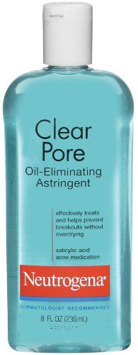 Neutrogena Clear Pore Oil-Eliminating Astringent reviews
