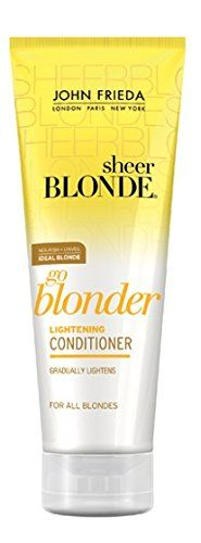 John Frieda Go Blonder Lightening Conditioner