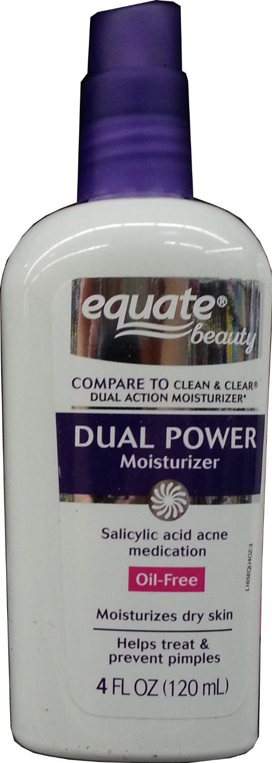 Equate Dual Action Moisturizer (clean and clear knock off)