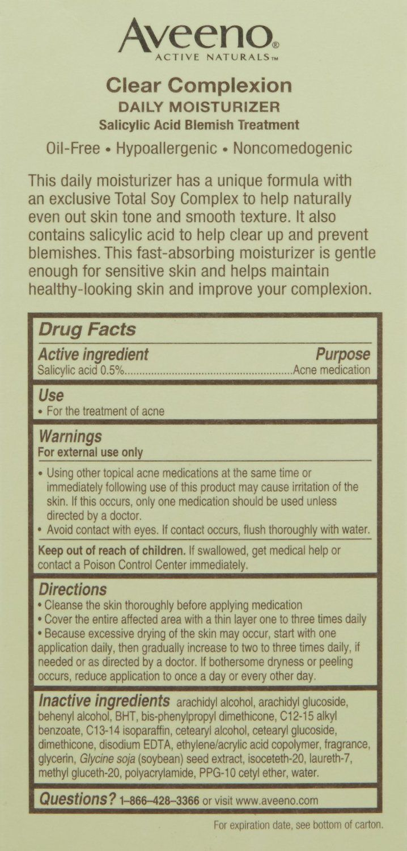Aveeno Aveeno Clear Complexion Daily Moisturizer Reviews
