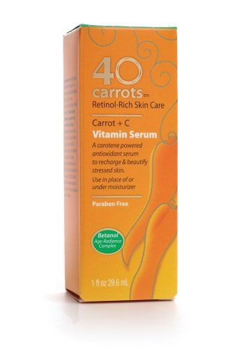 40 carrots-Carrot plus C Vitamin Serum