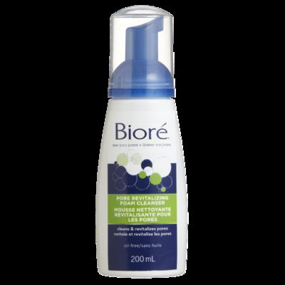 Biore Revitalize 4-in-1 Self-Foaming Cleanser