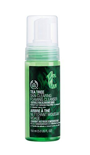 The Body Shop Tea Tree Oil Foaming Face Wash