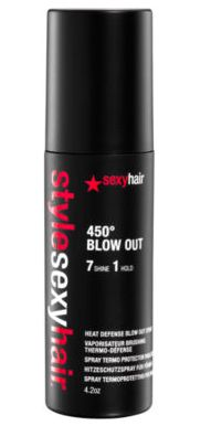 MAUREEN: Sexy hair flat iron spray