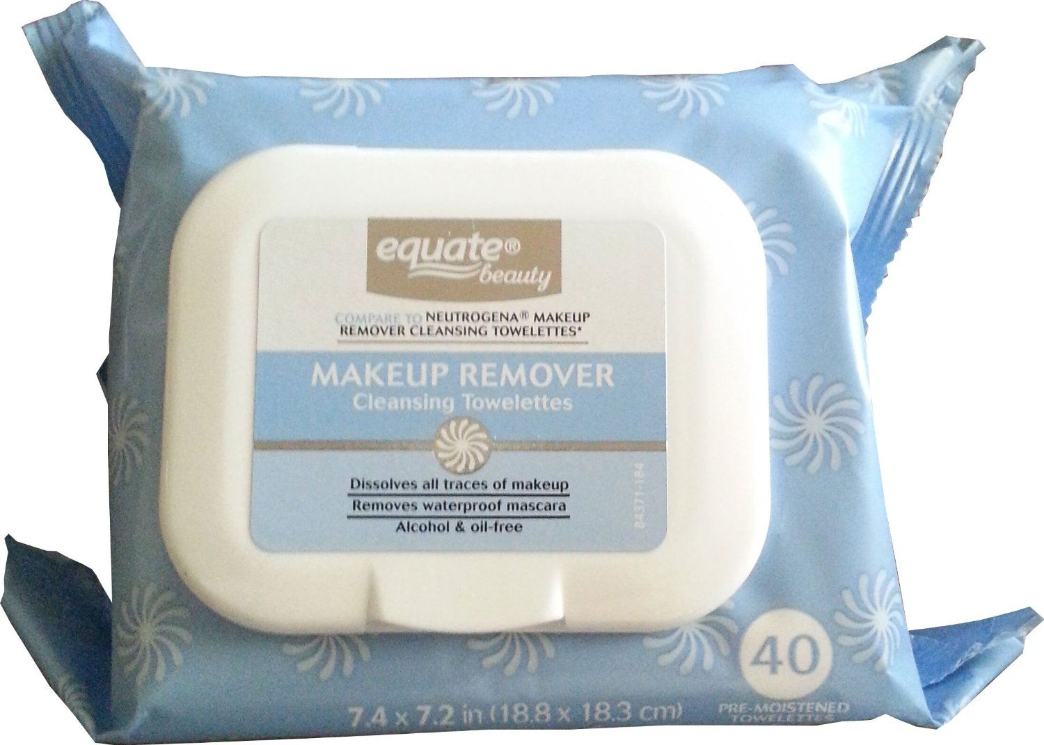 Equate Makeup Remover Cleansing Towelettes (Compare to Neutrogena)