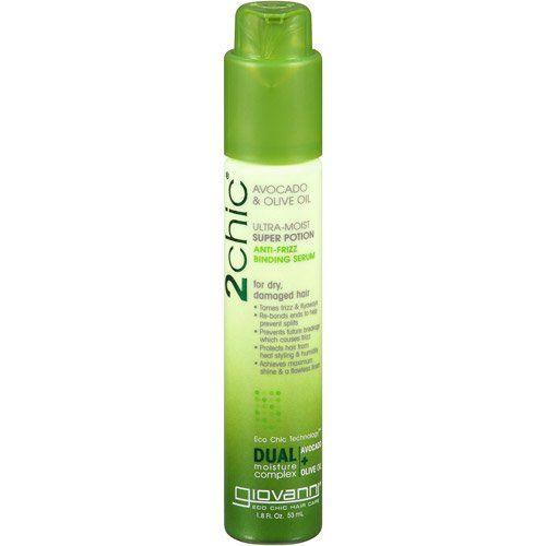 Giovanni 2chic Avocado \u0026 Olive Oil UltraMoist Super Potion AntiFrizz Binding Serum reviews