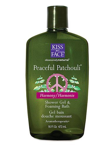 Kiss My Face Peaceful Patchouli Aromatherapeutic Shower Gel & Foaming Bath