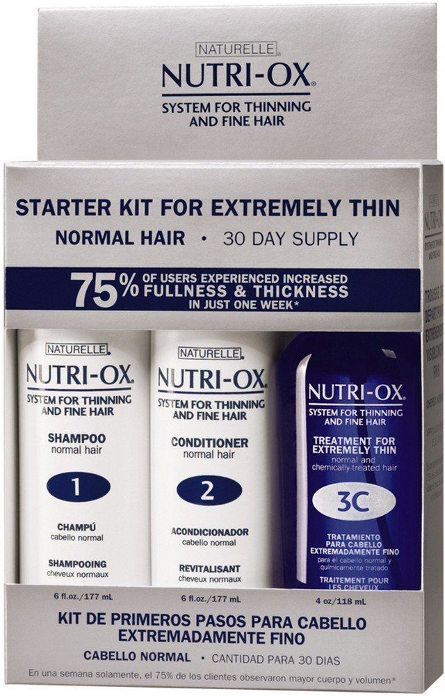 Nutri-Ox System For Thinning & Fine Hair