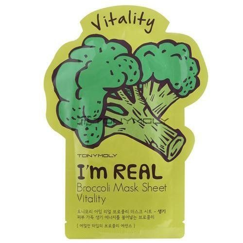 I'm Real Broccoli Mask Sheet - Vitality