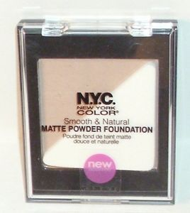New York Color Smooth & Natural matte powder foundation (urban light)