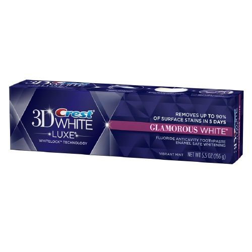 Crest 3D White Luxe Glamorous White Toothpaste reviews, photos, ingredients - Makeupalley
