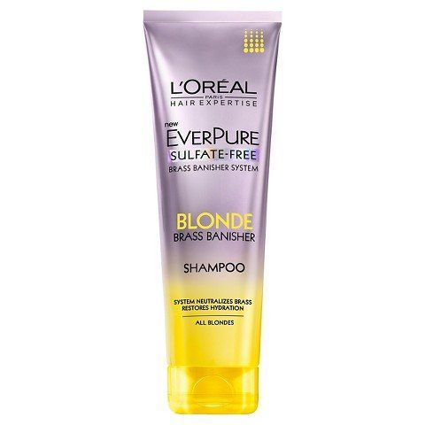 L Oreal Paris Everpure Sulfate Free Blonde Brass Banisher Shampoo