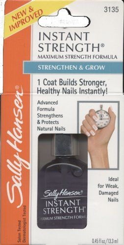 Sally Hansen Instant Strength Maximum Strength Formula