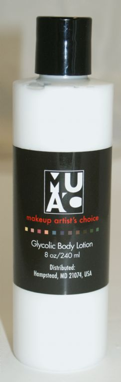 Makeup Artist's Choice (MUAC)  15% Glycolic Body Lotion