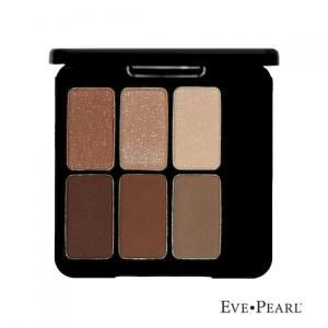 Eve Pearl  6 radiant eye shadows in Au' Natural