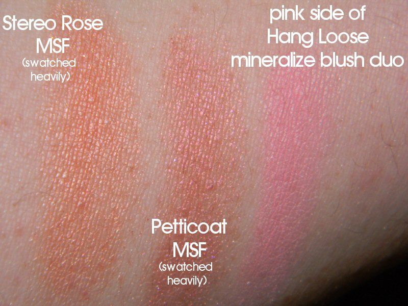 mac cosmetics skinfinish stereo rose reviews photos makeupalley