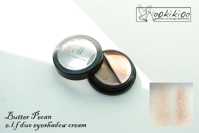 E.L.F. Cream Eyeshadow (duo): Butter Pecan