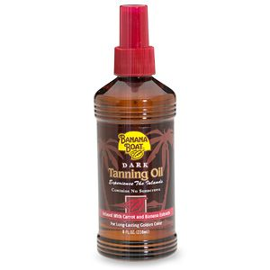 Banana Boat Dark Tanning Oil (SPF 4)