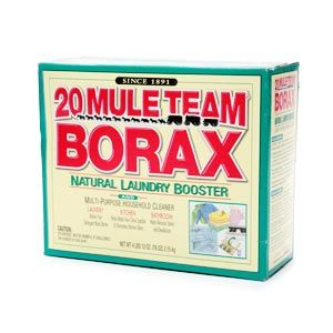 Borax laundry powder