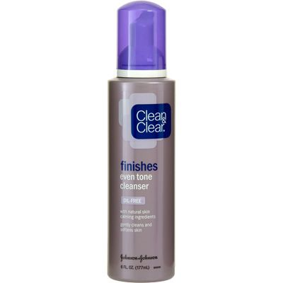 Clean & Clear finishes even tone cleanser