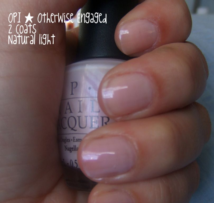OPI Otherwise Engaged reviews, photos - Makeupalley