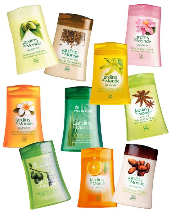 Yves Rocher Jardins Du Monde - All Shower Gels