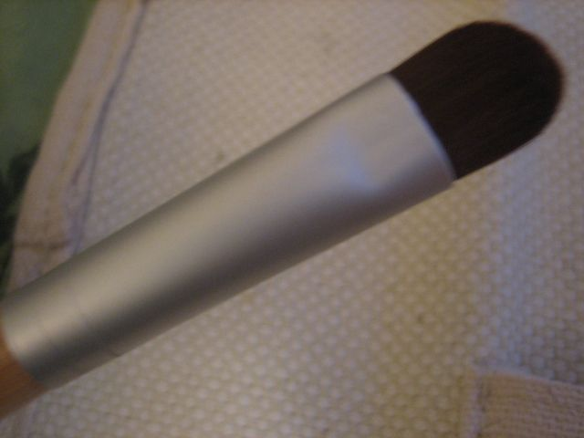 Ecotools  bamboo eye shading brush