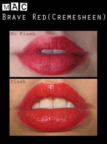 Mac Red Lipstick: Brave Red Reviews, Photo