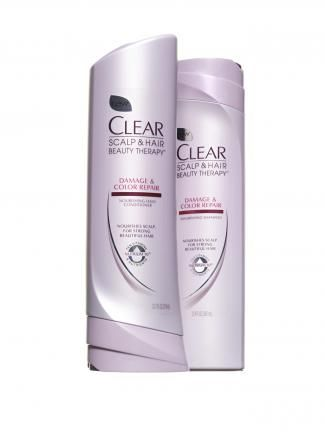 Clear Scalp and Hair Therapy for Damaged and Color Treated Hair