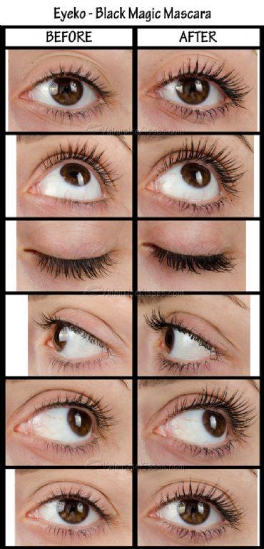 Eyeko Black Magic Mascara Curved Brush Reviews Photos