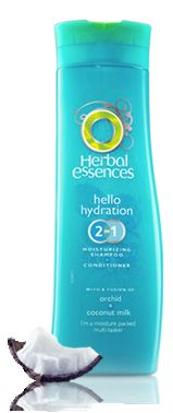 Clairol Hello Hydration 2 in 1 Shampoo and Conditioner