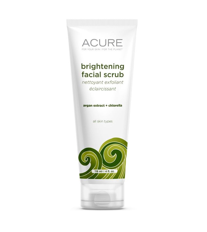 Acure Organics Brightening Facial Scrub Reviews, Photos
