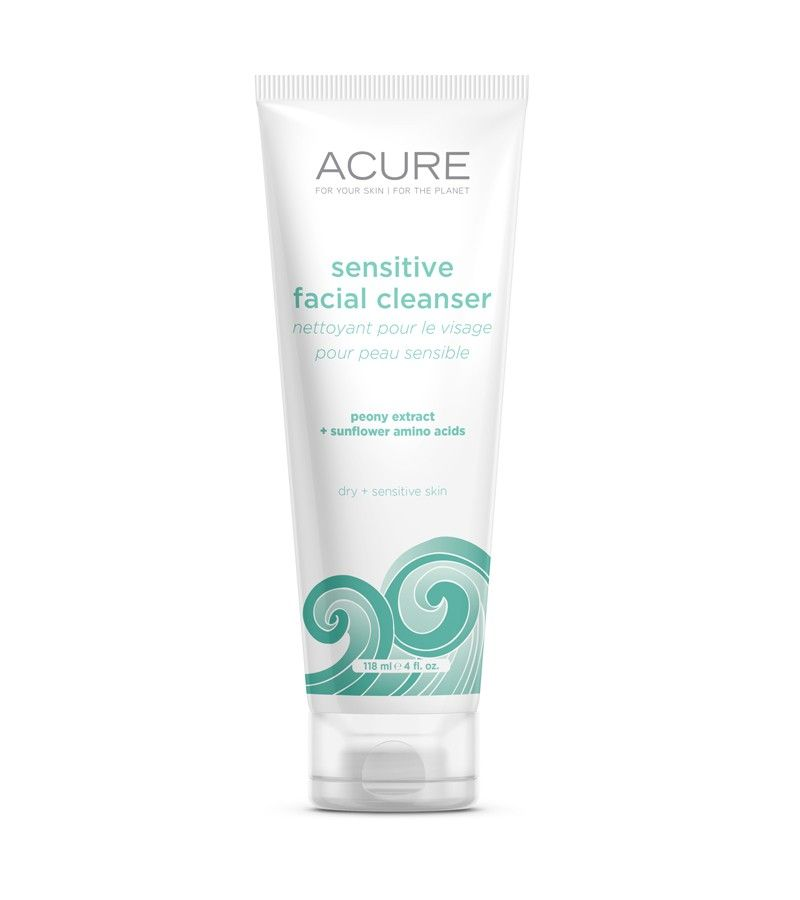 Acure Organics Sensitive Facial Cleanser With Peony And