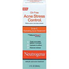 Neutrogena Oil-Free Acne Stress Control 3-in-1 Hydrating Acne Treatment  [DISCONTINUED]