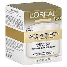 L'Oreal Age Perfect Anti-Sagging and Ultra Hydrating Day Cream SPF15