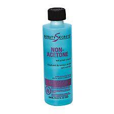 Beauty Secrets Non acetone polish remover