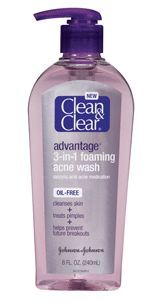 Clean & Clear Advantage 3 in 1 Foaming Acne Wash