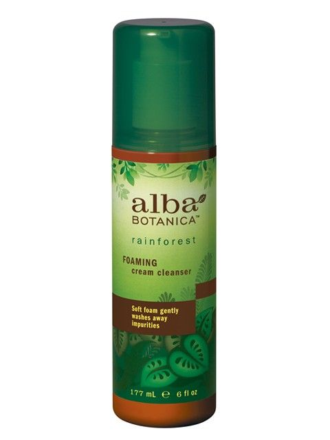 Alba Botanica RainForest Foaming Cream Cleanser