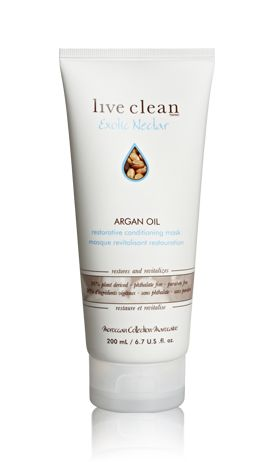 Live Clean (Exotic Nectar) Argan Oil Conditioning Mask
