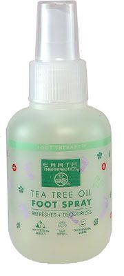 Earth Therapeutics  Tea Tree Foot Spray