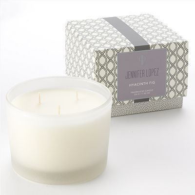 Jennifer Lopez Hyacinth Fig candle