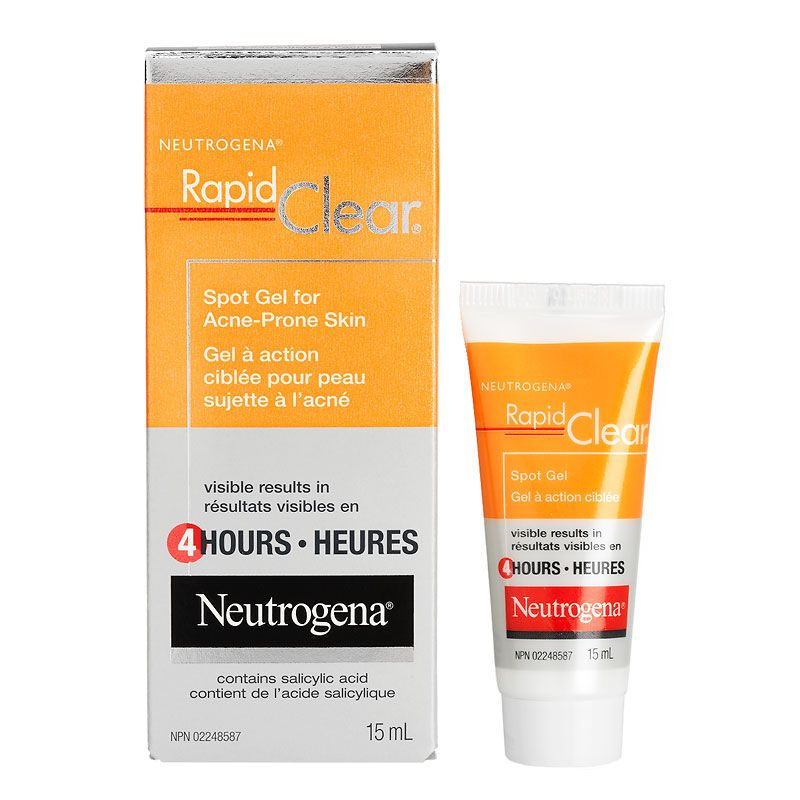 Neutrogena Rapid Clear Stubborn Acne Spot Gel Reviews Photos