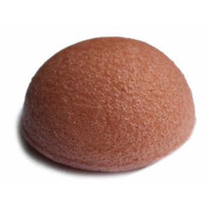 Red Clay Konjac Puff Sponge