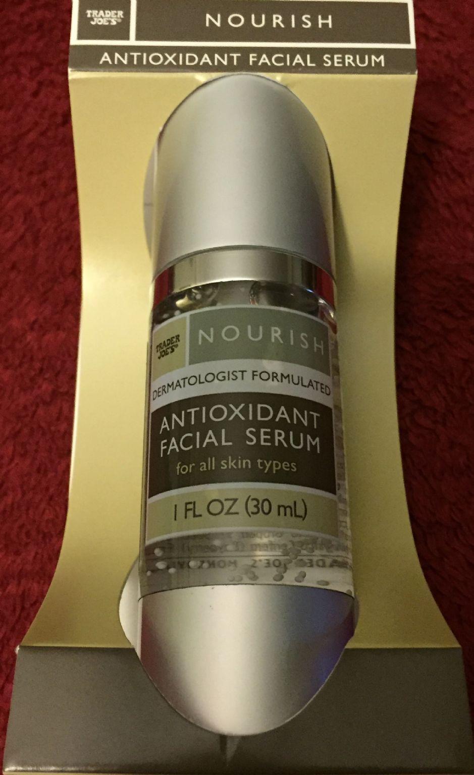 trader joe 39 s antioxidant facial serum reviews photo ingredients makeupalley. Black Bedroom Furniture Sets. Home Design Ideas