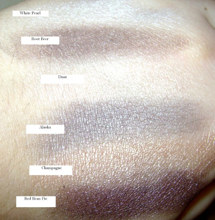 NYX eyeshadows w/ flash (Uploaded by Katie4098)
