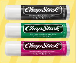 Chapstick (All Flavors)