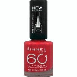Rimmel 60 Seconds 430 Coralicious