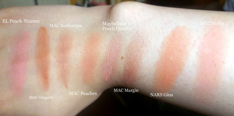 Populaire MAC Sheertone Blush in Peaches reviews, photos, ingredients  WI68