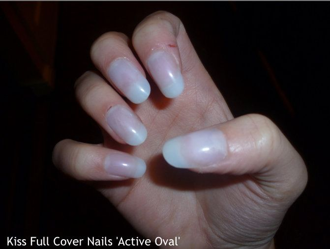 Kiss - Active Oval full-cover nails reviews, photos, ingredients ...