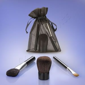 Coastal Scents 3 Pcs Limited Edition Brush Set
